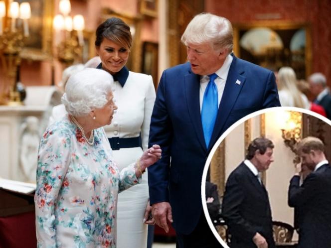 Así reaccionó Harry con Trump cuando insultó a su esposa