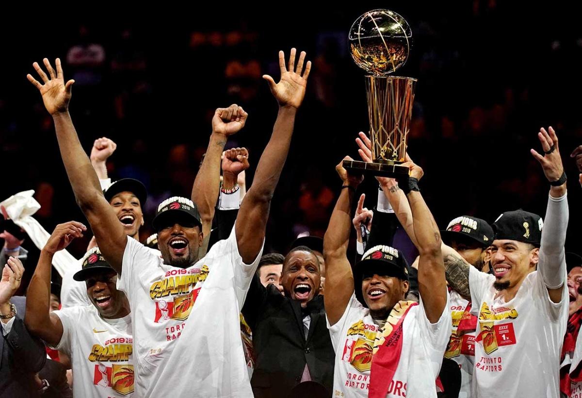 Raptors conquistan la NBA y acaban con dinastía de los Warriors