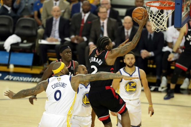 Raptors retoman ventaja en finales de la NBA