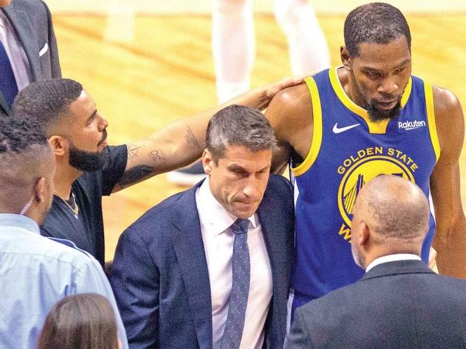 Warriors espera lo peor con la lesión de Durant