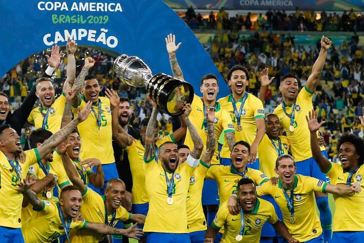 Brasil levanta la Copa América en casa