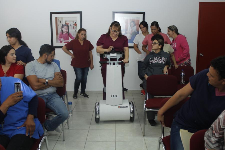 """De Pie"""", un proyecto innovador para personas con discapacidad"""