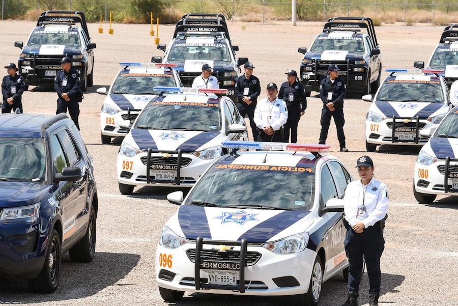 Entregó Celida López nuevas patrullas para Hermosillo