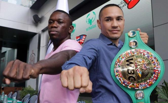 'Gallo' Estrada prepara primera defensa de su título