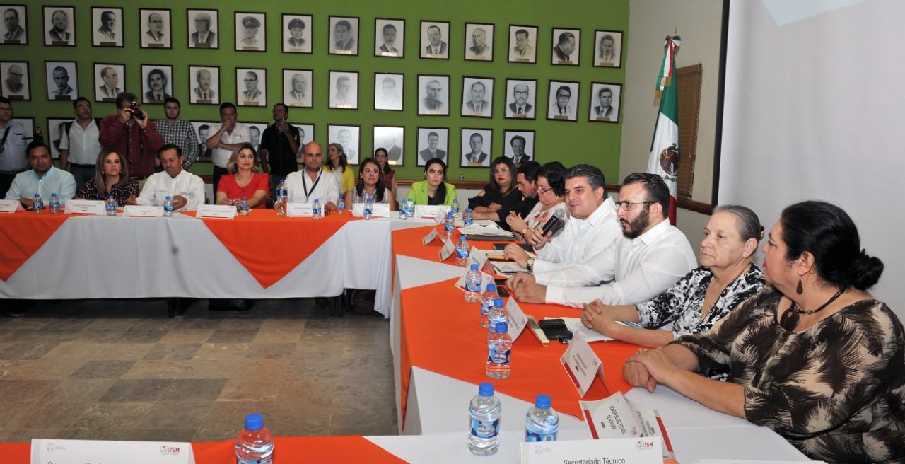 Preside Miguel Pompa XXIII sesión del Sistema Estatal PASE