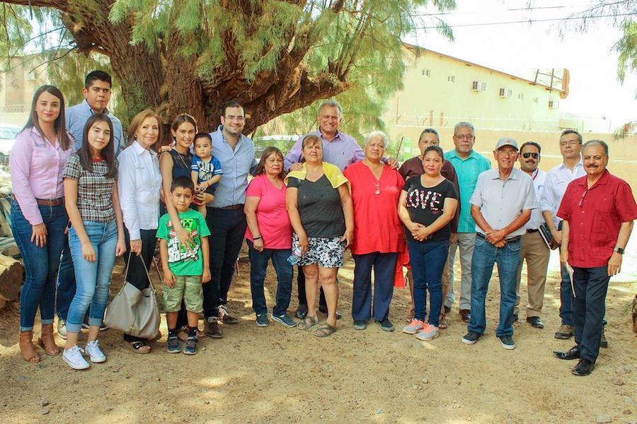 Mejorará Sedesson entorno de familias en Santa Ana y Magdalena