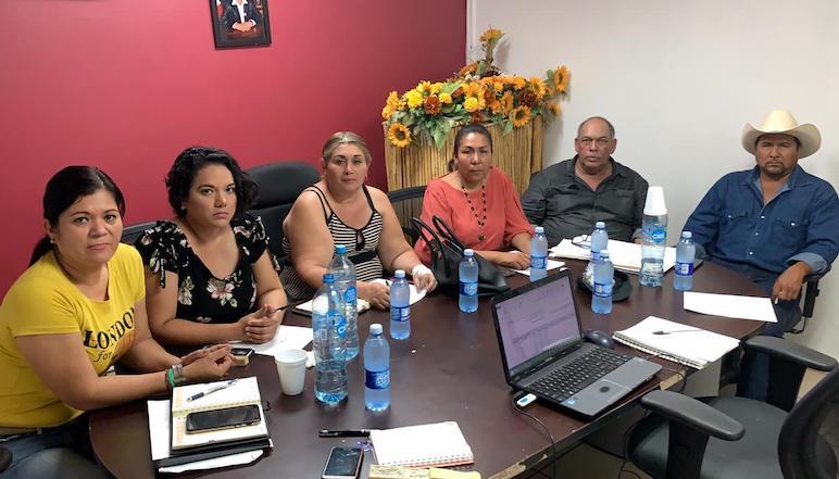 """Encontramos un desorden y """"muy sucia"""" la administración en Bácum: Benita Aldama"""