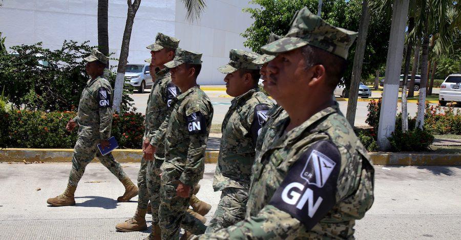 Solo 5% de los elementos de la Guardia Nacional han aprobado los controles de confianza
