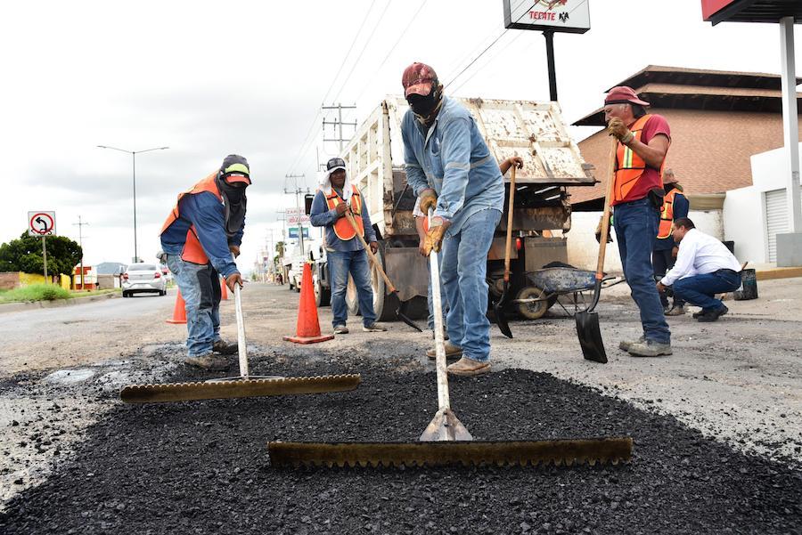 Trabaja CIDUE para mantener en control el deterioro de calles a causa de lluvias