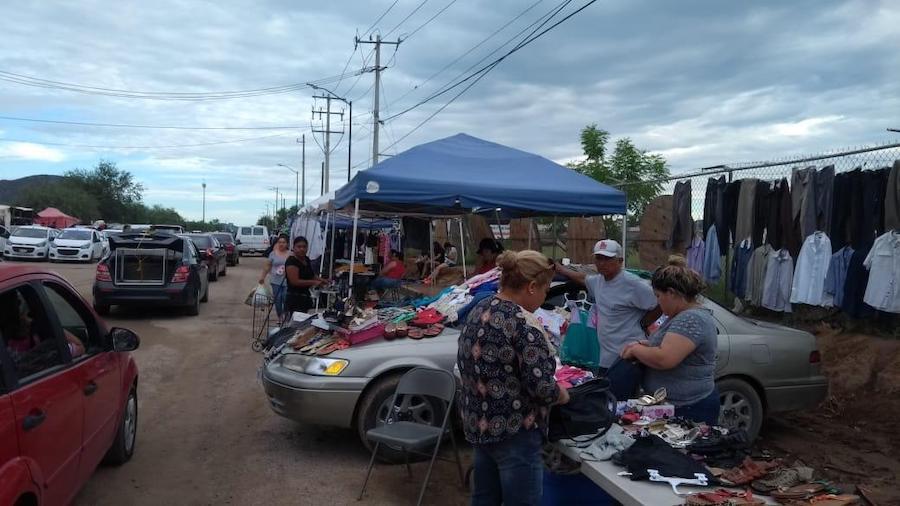 Regularizarán la actividad comercial en el tianguis del Cerro Colorado