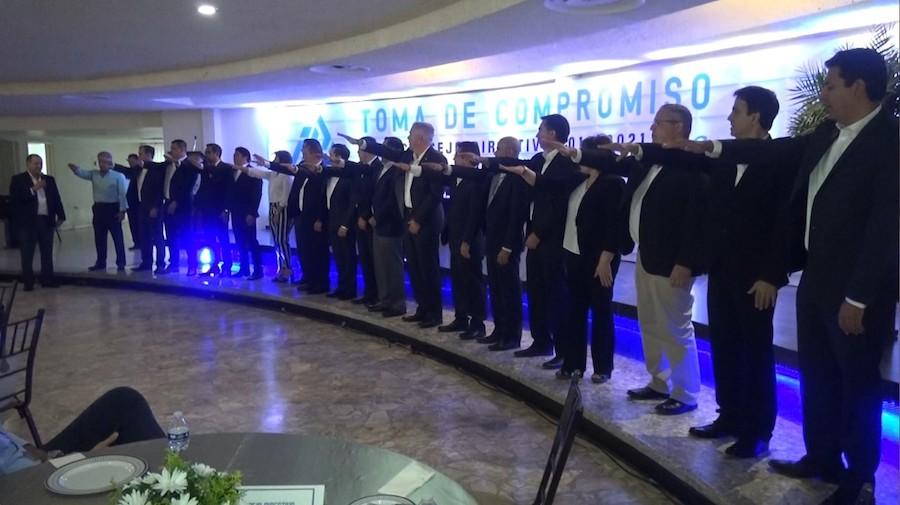 Atestigua Vidal Ahumada toma de protesta del Consejo Directivo Coparmex Navojoa