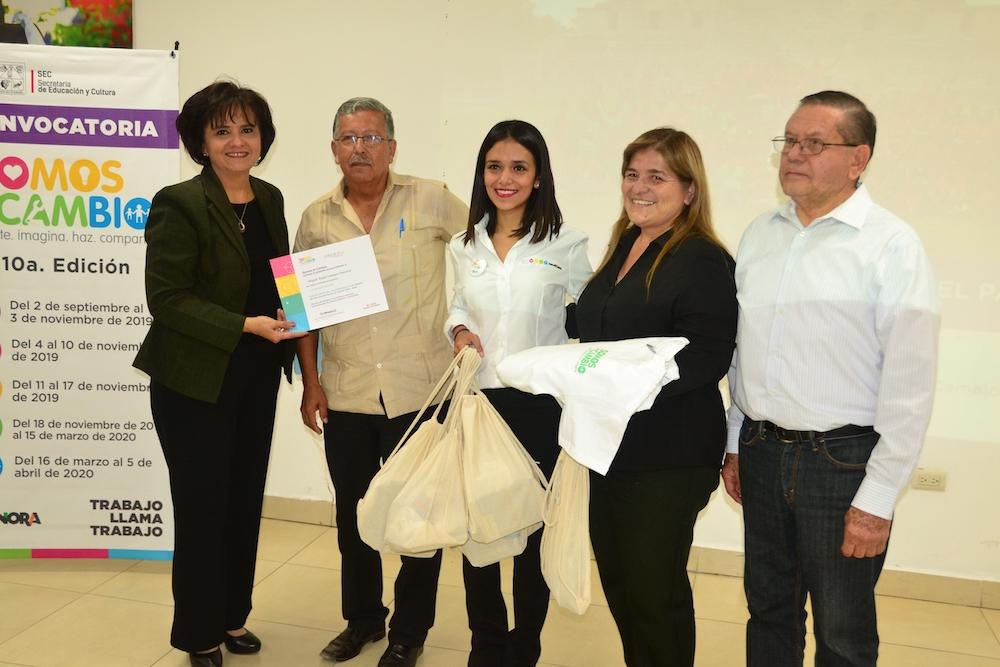 Reconoce Fundación EducarUno a escuelas sonorenses