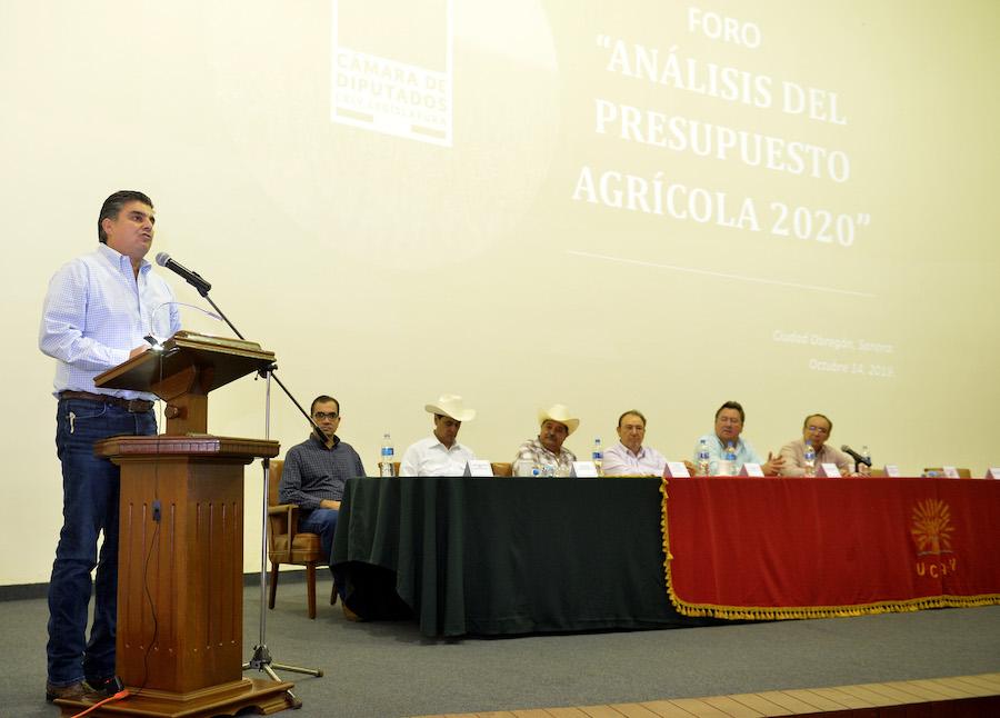 Importante unir esfuerzos por un presupuesto federal justo para el campo: Miguel Pompa