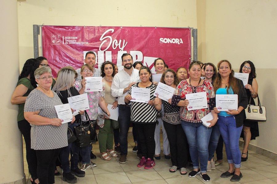 """Cuenta Sonora con 132 emprendedoras surgidas de """"Soy Pilar"""""""