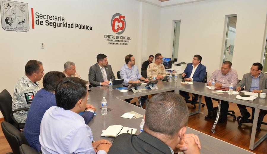 Coordinan esfuerzos en seguridad autoridades de Sonora, Chihuahua y Federación