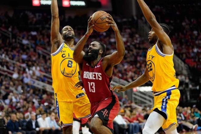 Harden lidera victoria de los Rockets sobre los Warriors