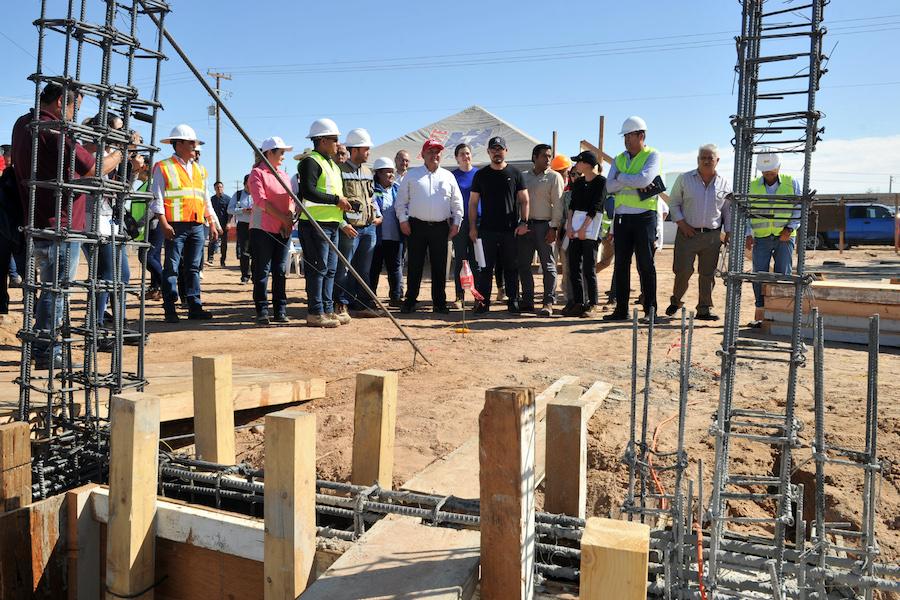 Beneficia a habitantes de San Luis Río Colorado coordinación entre gobiernos Estatal y Federal