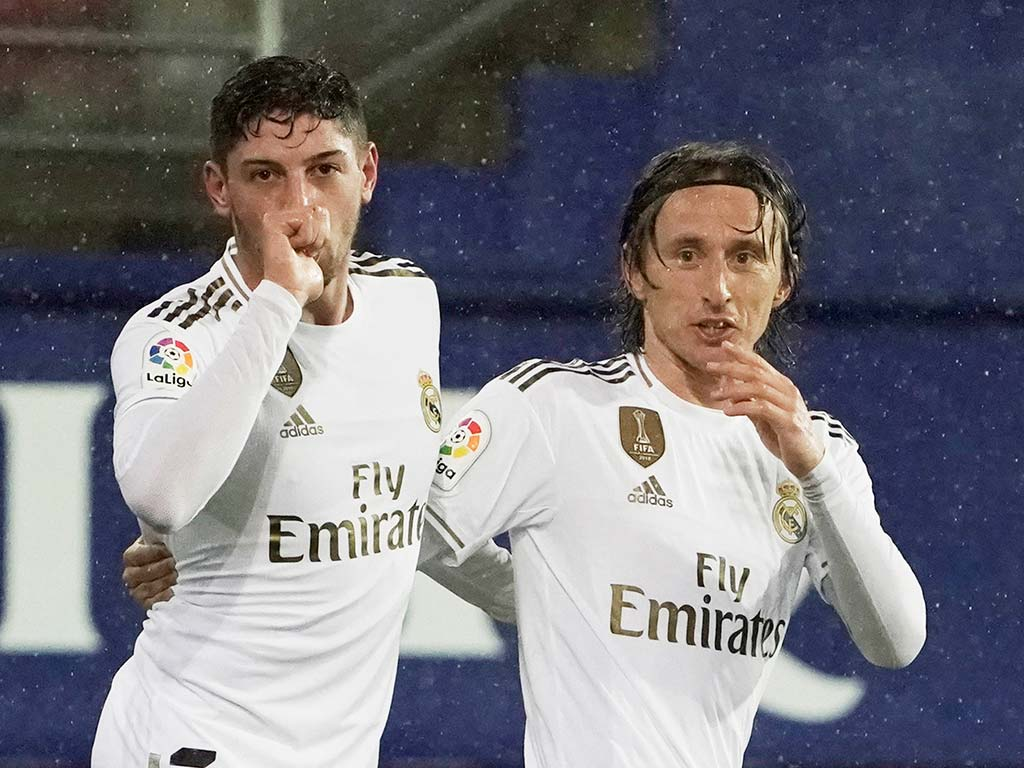 La mejor versión del Real Madrid en la temporada