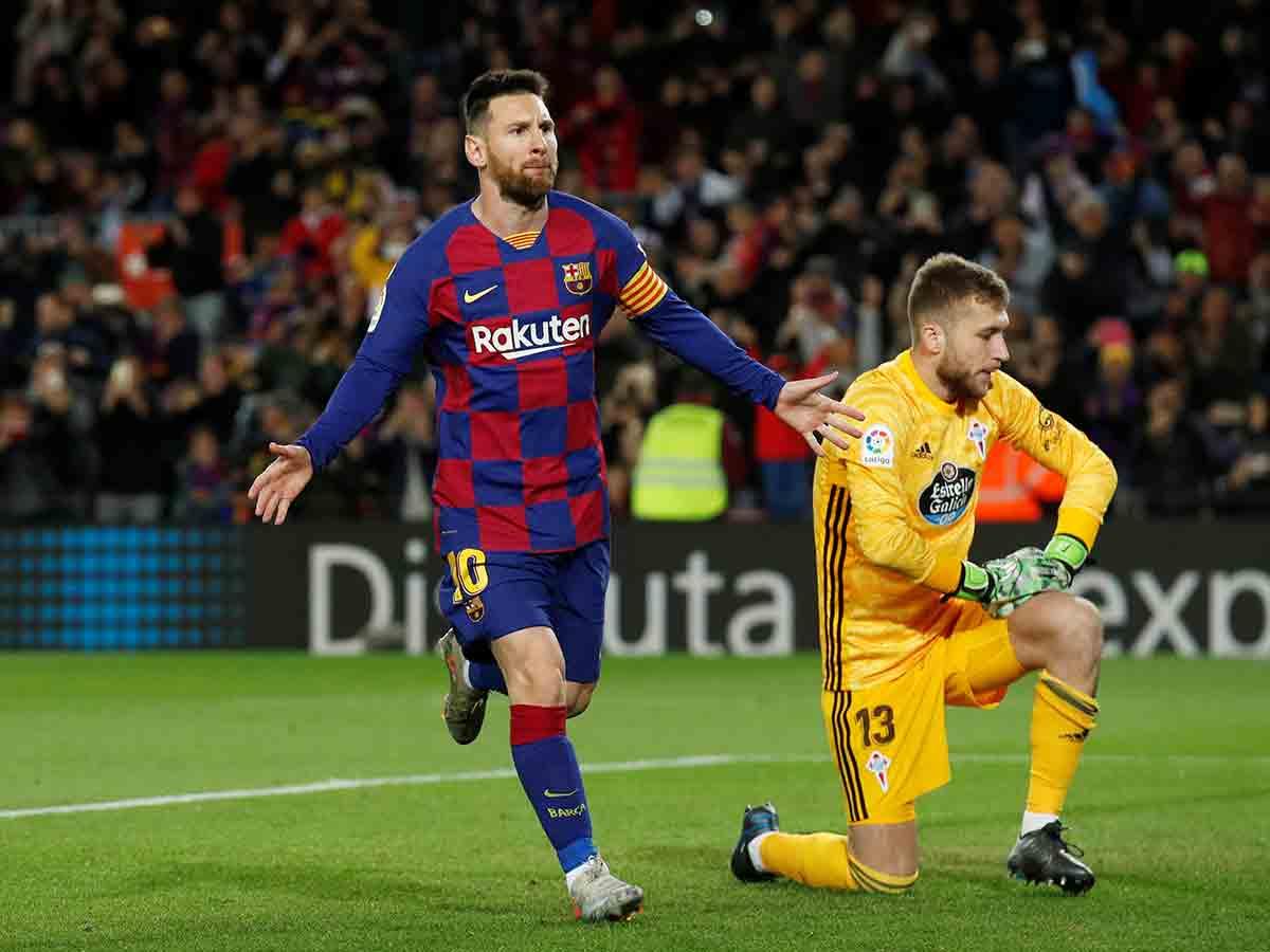 Messi regresa al Barcelona a la senda del triunfo