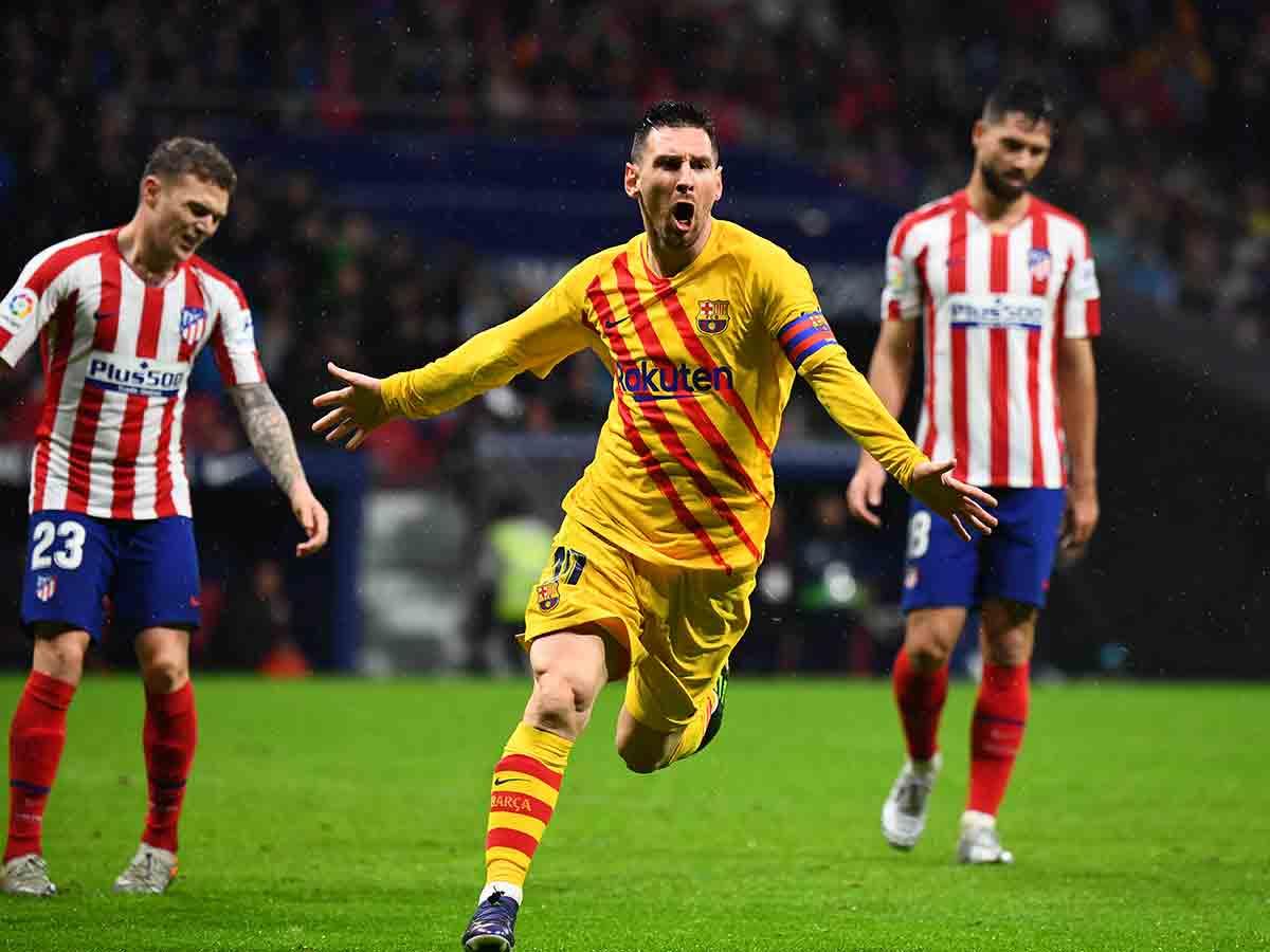 Lionel Messi mantiene al Barcelona líder en España