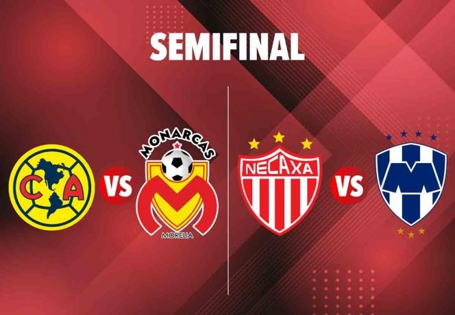 Así se jugarán las semifinales del Apertura 2019