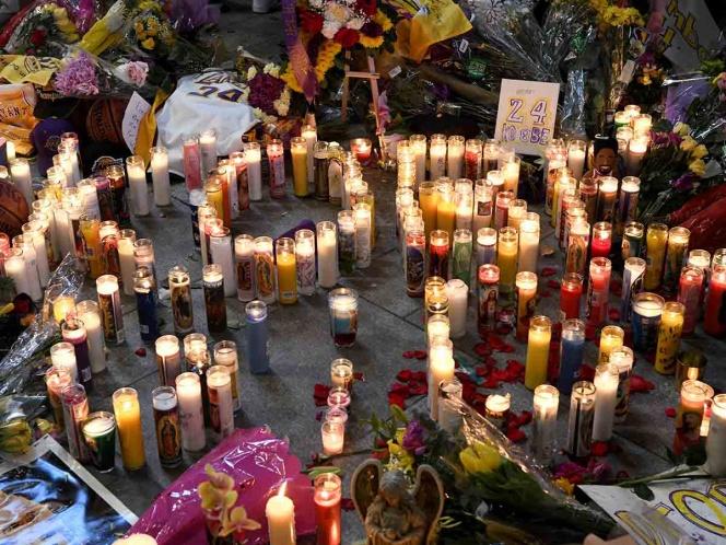 Celebridades lamentan muerte de Kobe Bryant