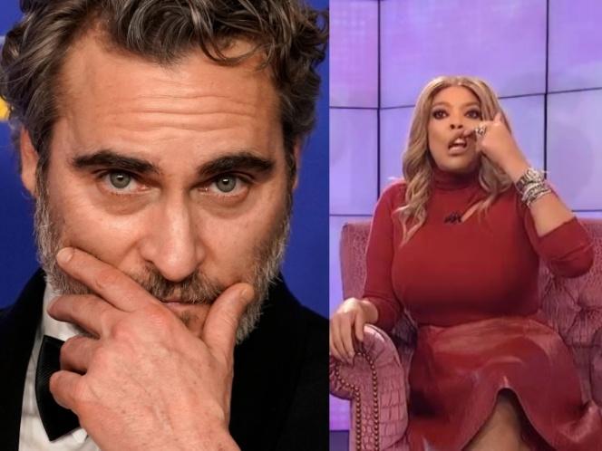 Conductora se burla del labio de Joaquin Phoenix y todos enfurecen