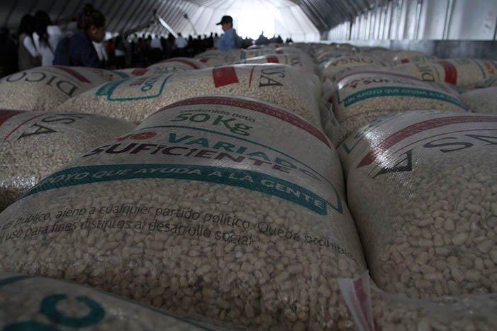 Abasto de alimentos garantizado por 100 días ante contingencia por COVID-19: Economía