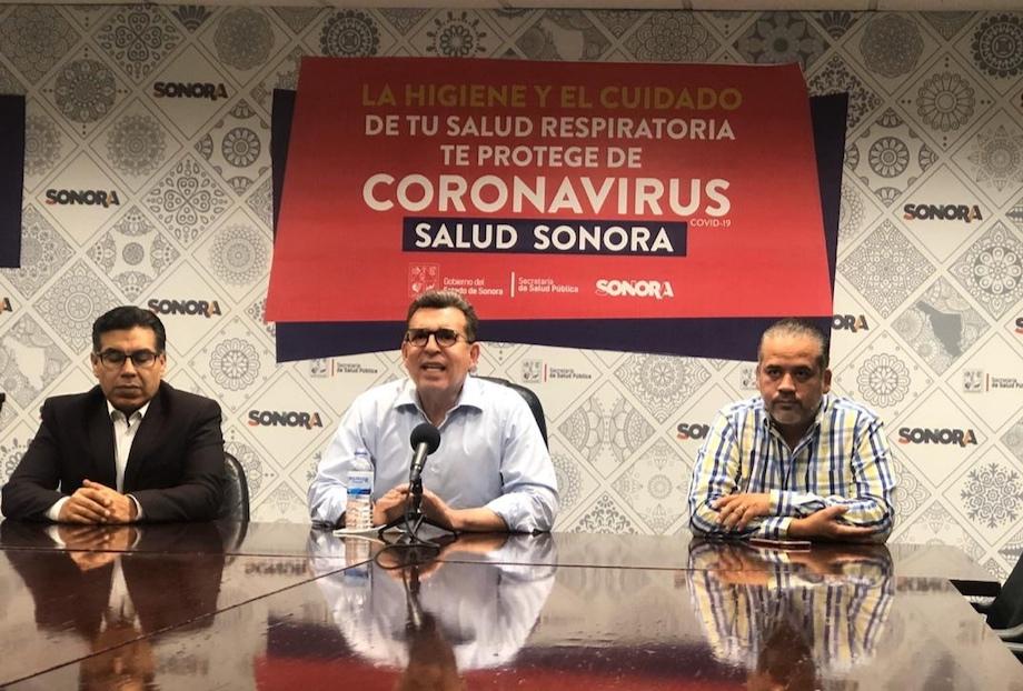 Confirma Secretaría de Salud tres casos más de Covid-19 en Sonora