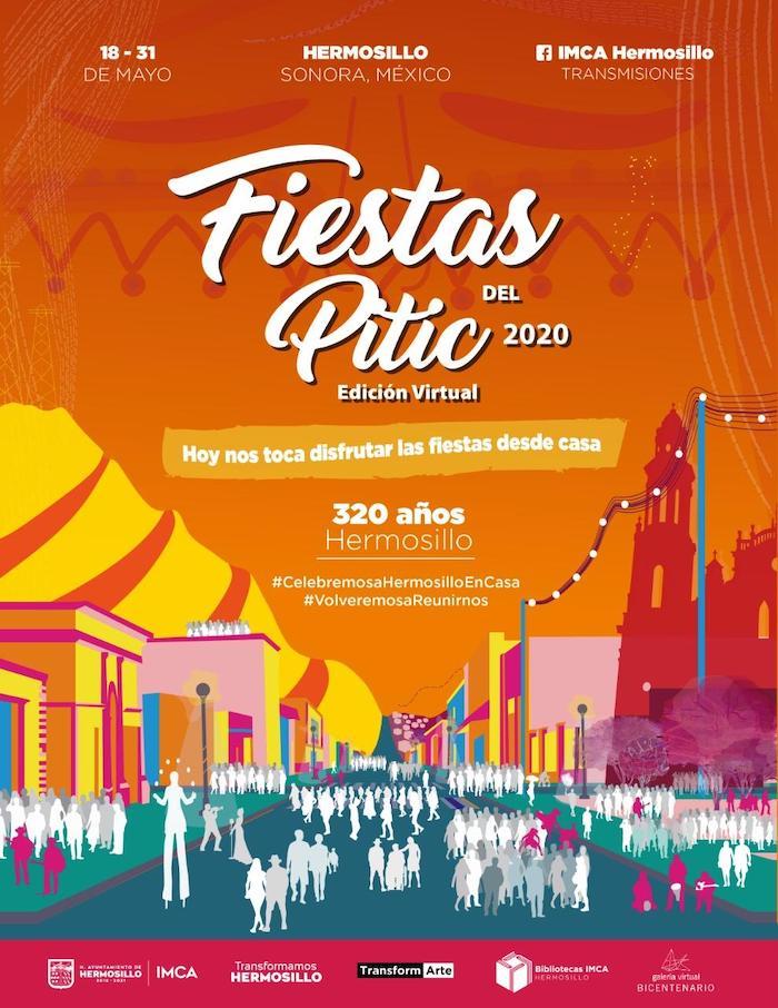 Anuncian Fiestas del Pitic 2020 Edición Virtual
