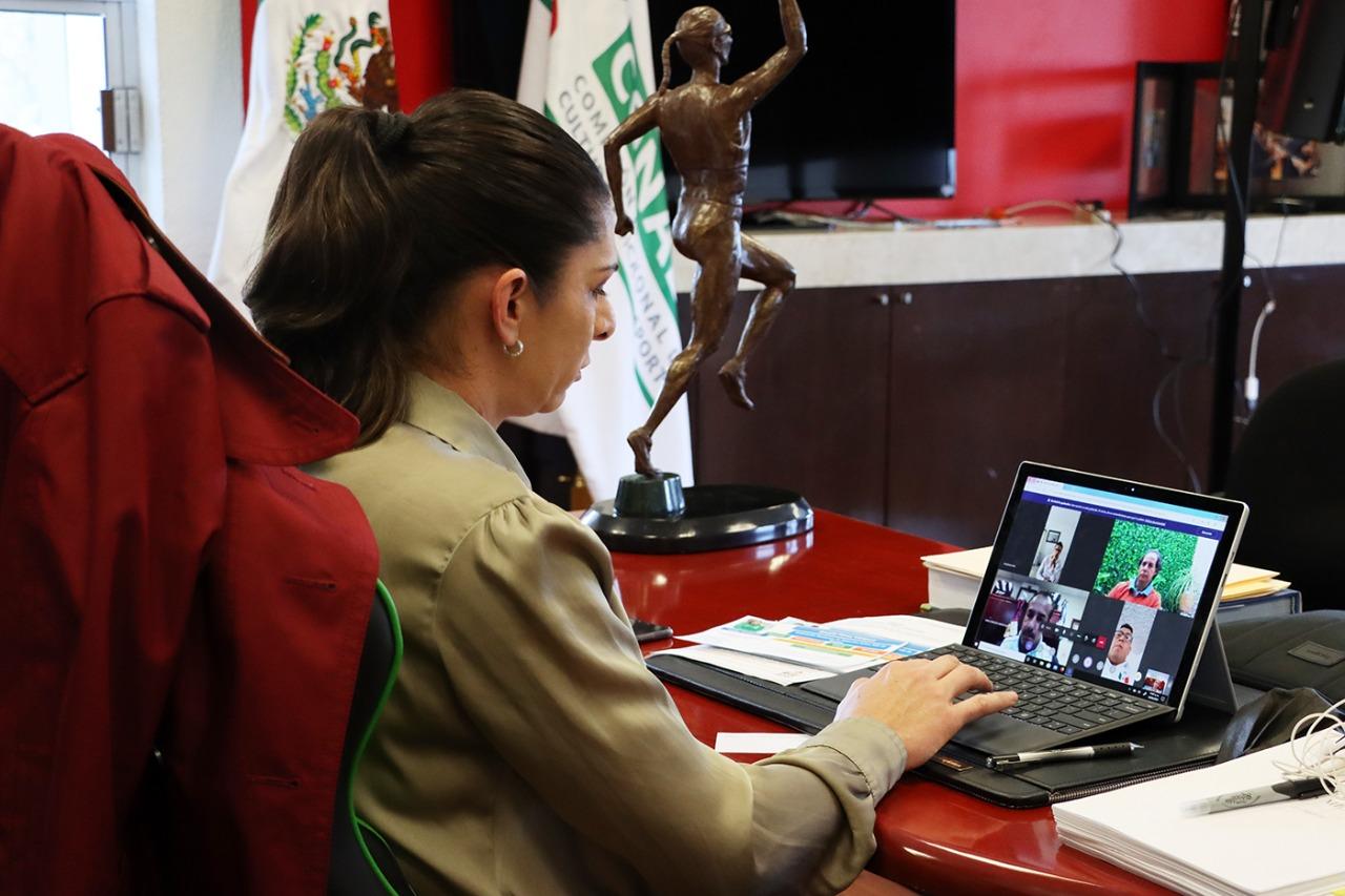 Ana Guevara pide calma a deportistas paralímpicos